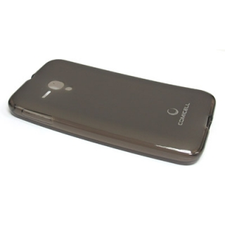 Futrola silikon DURABLE za Alcatel OT-5038 Pop D5 siva