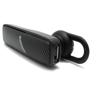 Bluetooth headset music 2in1 crni