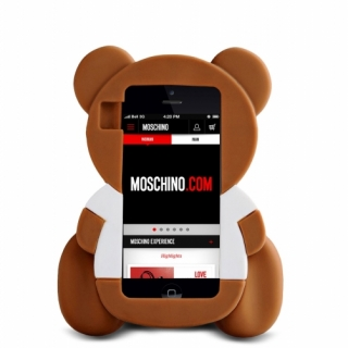 Futrola GUMENA TEDDY TOY za Huawei P8 Ascend braon