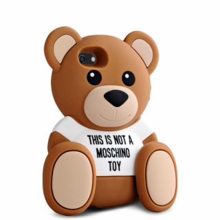 MOSCHINO Futrola GUMENA TEDDY TOY za Huawei P8 Ascend braon