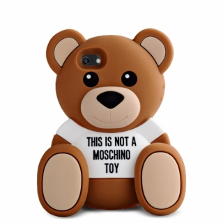 MOSCHINO Futrola GUMENA TEDDY TOY za Iphone 6G/6S braon