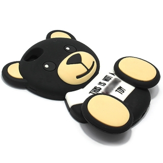 Futrola GUMENA TEDDY TOY za Iphone 6G/6S crna
