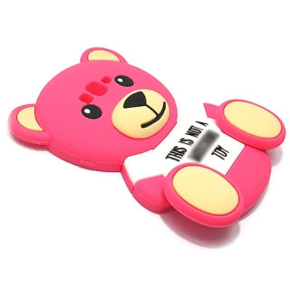 Futrola GUMENA TEDDY TOY za Samsung G530H/G5308 Galaxy Grand Prime pink