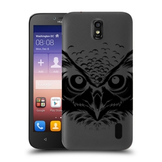 Futrola ULTRA TANKI PRINT CLEAR za Huawei Y625 Ascend TC0006
