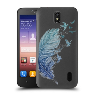 Futrola ULTRA TANKI PRINT CLEAR za Huawei Y625 Ascend TC0004