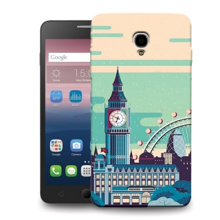 Futrola DURABLE PRINT za Alcatel OT-5051 Pop 4 TN0002