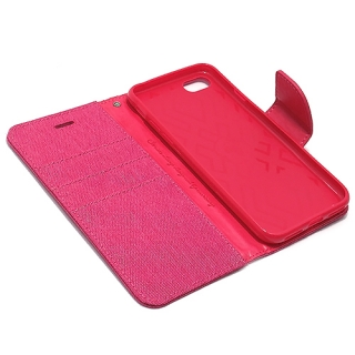 Futrola BI FOLD MERCURY Canvas za Iphone 7 pink