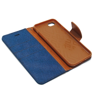 Futrola BI FOLD MERCURY Canvas za Iphone 7 plava