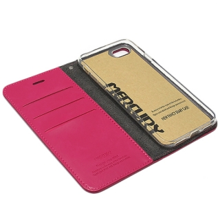 Futrola BI FOLD MERCURY Flip za Iphone 7 pink