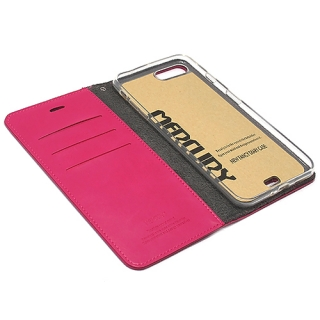 Futrola BI FOLD MERCURY Flip za Iphone 7 Plus pink
