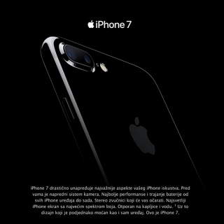 Mobilni telefon iPhone 7 128GB BLACK, SILVER, GOLD, ROSE GOLD