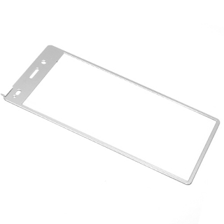 Folija za zastitu ekrana GLASS COLOR za Huawei P8 Lite Ascend srebrna