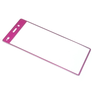Folija za zastitu ekrana GLASS COLOR za Huawei P8 Lite Ascend pink