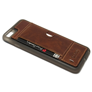 Futrola PIERRE CARDIN PCL-P11 za Iphone 6 Plus braon