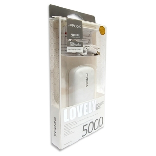 Power Bank REMAX PRODA LOVELY 5000mAh bela