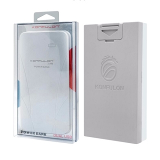 Power Bank KONFULON 10000mAh KFL-EDGE II belo-sivi