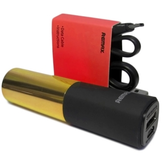 Power Bank REMAX Lipmax 2400mAh zlatna
