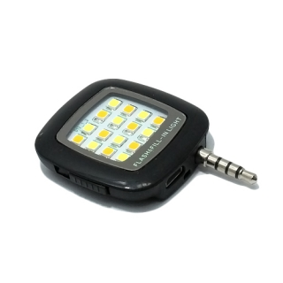 LED Flash 3.5mm crni