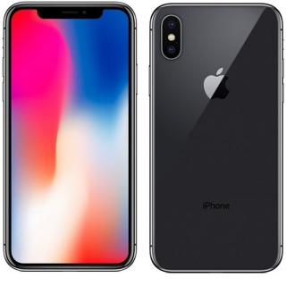 Apple Iphone X 64GB Tamno siva