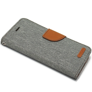 Futrola BI FOLD MERCURY Canvas za Iphone X/ Iphone XS siva