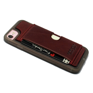 Futrola PIERRE CARDIN PCL-P11 za Iphone 7/Iphone 8 bordo