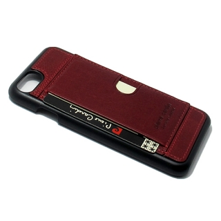Futrola PIERRE CARDIN PCL-P17 za Iphone 7/ Iphone 8 bordo