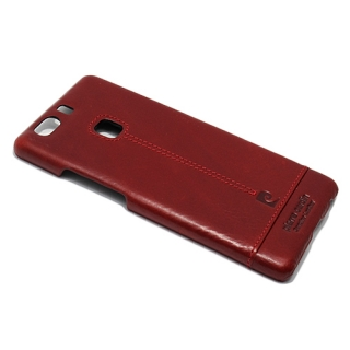 Futrola PIERRE CARDIN PCL-P03 za Huawei P9 Plus bordo
