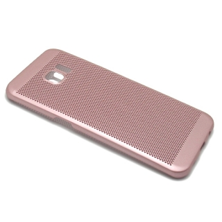 Futrola PVC BREATH za Samsung G935 Galaxy S7 Edge roze