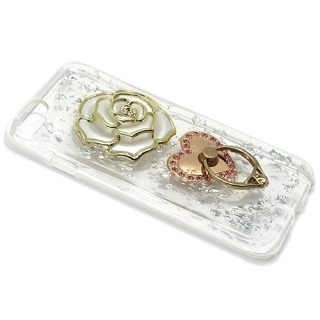 Futrola silikon ROSE RING za Iphone 6G/6S bela