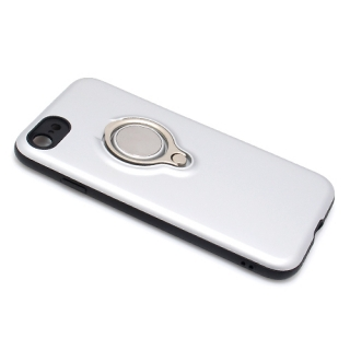 Futrola MAGNETIC RING za Iphone 7/ Iphone 8 srebrna