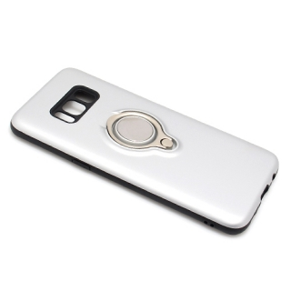 Futrola MAGNETIC RING za Samsung G950F Galaxy S8 srebrna