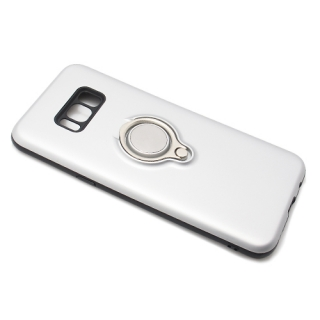 Futrola MAGNETIC RING za Samsung G955F Galaxy S8 Plus srebrna