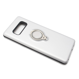 Futrola MAGNETIC RING za Samsung N950F Galaxy Note 8 srebrna