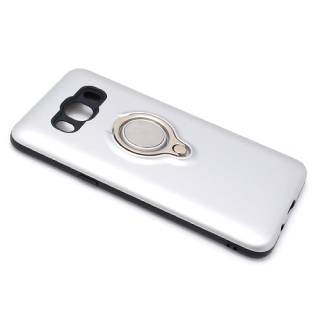 Futrola MAGNETIC RING za Samsung J510 Galaxy J5 2016 srebrna
