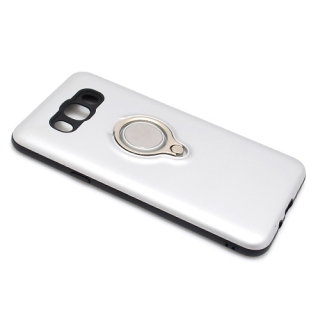 Futrola MAGNETIC RING za Samsung J710 Galaxy J7 2016 srebrna