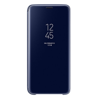 Samsung Galaxy S9 Clear View stojeća futrola plava