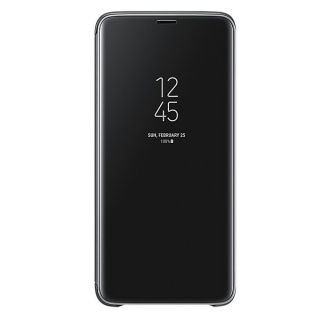 Samsung Galaxy S9 plus Clear View stojeća futrola crna