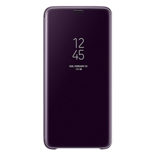 Samsung Galaxy S9 plus Clear View stojeća futrola ljubičasta