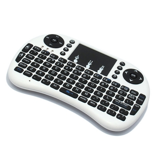 USB wireless mini tastatura touchpad bela