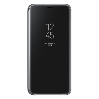 Samsung Galaxy S9 Clear View stojeća futrola crna