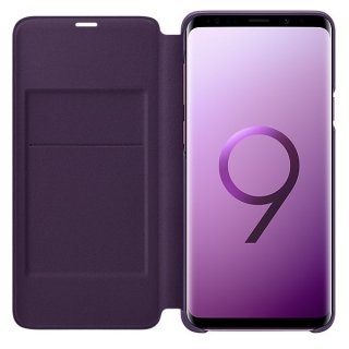 Samsung Galaxy S9 plus Led View futrola na preklop ljubičasta
