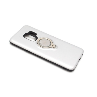 Futrola MAGNETIC RING za Samsung G960F Galaxy S9 srebrna