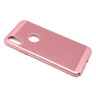 Futrola PVC BREATH za Iphone X roze