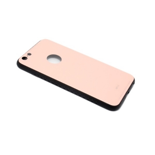 Futrola GLASS za Iphone 6 Plus roze