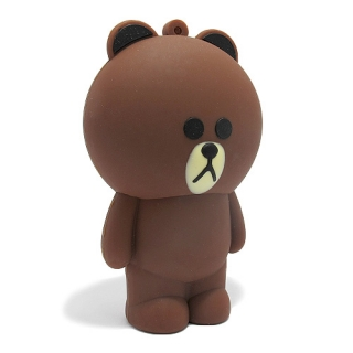 Power Bank TEDDY 8000mAh braon