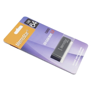 USB Flash memorija MemoStar 64GB CUBOID 3.0 crna