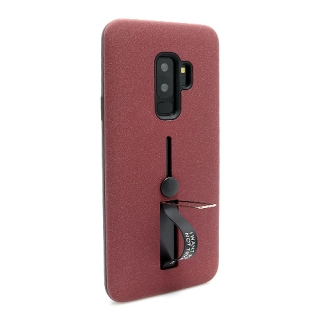 Futrola Finger Strap za Samsung G965F Galaxy S9 Plus bordo