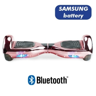 HOVERBOARD S36 BLUETOOTH CHROME PINK