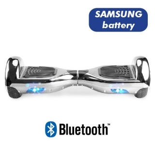 HOVERBOARD S36 BLUETOOTH CHROME SILVER