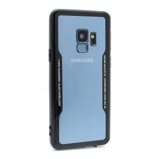 Futrola BACK CLEAR za Samsung G960F Galaxy S9 crna